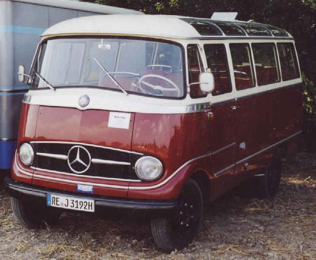 Mercedes Benz O 319 D in originalem Zustand